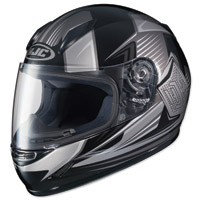 HJC CL-Y Striker Gray/Black Youth Full Face Helmet