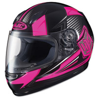 HJC CL-Y Striker Pink/Black Youth Full Face Helmet