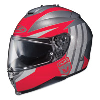 HJC IS-17 Grapple Red/Gray Full Face Helmet