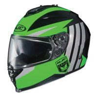 HJC IS-17 Grapple Green/Black/Gray Full Face Helmet