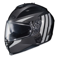 HJC IS-17 Grapple Black/Gray Full Face Helmet