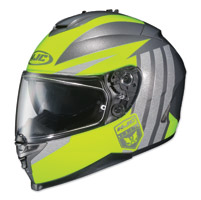 HJC IS-17 Grapple Yellow/Gray Full Face Helmet