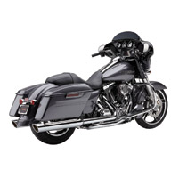 Cobra 909-Twins Chrome Slip-On Mufflers