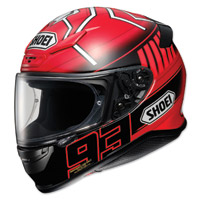Shoei RF-1200 Marquez 3 Red Full Face Helmet