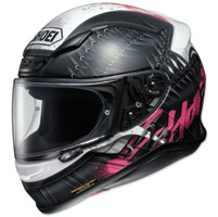 Shoei RF-1200 Seduction Black/Pink Full Face Helmet