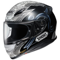 Shoei RF-1200 Diabolic Black Full Face Helmet