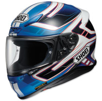 Shoei RF-1200 Valkyrie Blue/white Full Face Helmet