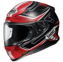 Shoei RF-1200 Valkyrie Red/Black Full Face Helmet