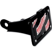 Accutronix Black Side Mount License Plate Kit