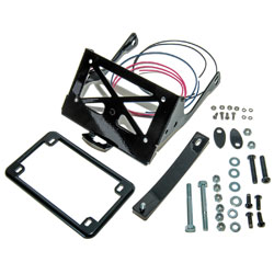 Easy Brackets Black Turn Signal Relocation Kit