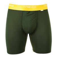 My Pakage Men's Weekend British Racing Green Underwear