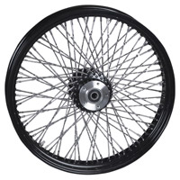 Paughco Black 80-Spoke Front Wheel, 21″ x 3.5″