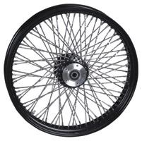 Paughco 80-Spoke Black Wheels