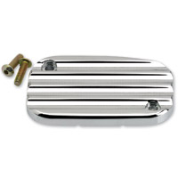 Joker Machine Chrome Finned Clutch Master Cylinder Cover