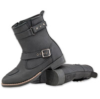 Joe Rocket Women's Moto Adira Black Leather Boot