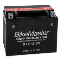 BikeMaster Maintenance Free Batteries