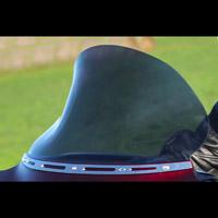 Klock Werks 11-1/2″ Dark Smoke Flare Windshield