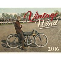 National Motorcycle Museum 2016 Vintage Wind Calendar