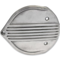 Lowbrow Customs Finned Cast Air Cleaner Cover