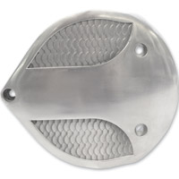 Lowbrow Customs Fish Scale Cast Air Cleaner Cover