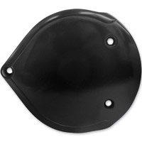 Lowbrow Customs Black Smooth Cast Air Cleaner Cover