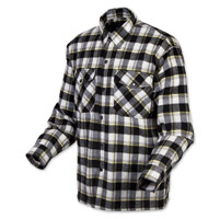 Scorpion EXO Men's Covert Black/Yellow Flannel Shirt
