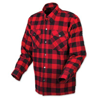 Scorpion EXO Men's Covert Red/Black Flannel Shirt