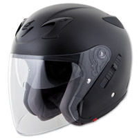 Scorpion EXO EXO-CT220 Matte Black Open Face Helmet