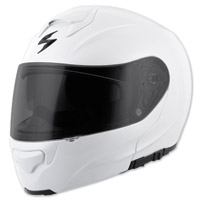 Scorpion EXO EXO-GT3000 Solid Pearl White Modular Helmet