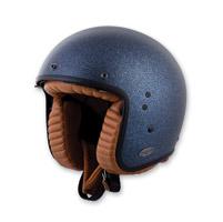 Scorpion EXO Belfast Solid Matte Mettallic Blue Open Face Helmet