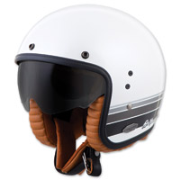 Scorpion EXO Belfast Blanco Open Face Helmet