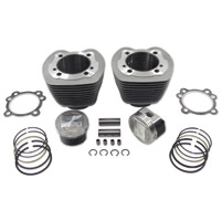 V-Twin Manufacturing 95? TC-88 Silver Cast Big Bore Kit