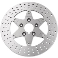 Ferodo Rear Polished Full Floating Brake Rotor
