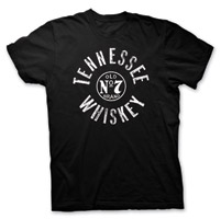 Jack Daniel's Men's Tennessee Whiskey Black T-Shirt