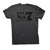 Jack Daniel's Men's Old No. 7 Brand Charcoal T-Shirt