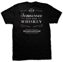 Jack Daniel's Men's Tennessee Sour Mash Black T-Shirt