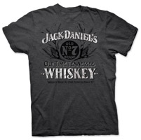 Jack Daniel's Men's Old Time Tennessee Gray T-Shirt