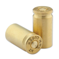 Milwaukee Twins Ammo Line 9mm Brass Bullet Tire Valve Stem Caps