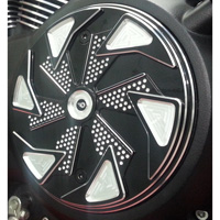 Whitewall Choppers Shadow Contrast Series Derby Cover