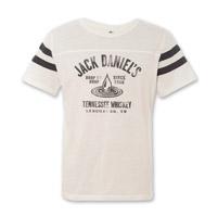 Jack Daniel's Men's Drop by Drop White Football Tee