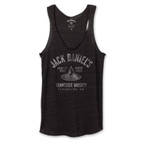 Jack Daniel's Women's Drop by Drop Black Tank Top