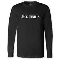 Jack Daniel's Men's Every Day Black Long-Sleeve T-Shirt