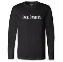 Jack Daniel's Men's Every Day Black Long-Sleeve T-Shirt
