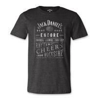 Jack Daniel's Men's Music Charcoal T-Shirt