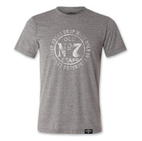 Jack Daniel's Men's Bug Gray T-Shirt