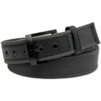 Westside Accessories Men's Nylon and Web Charcoal belt
