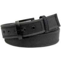 Westside Accessories Men's Nylon and Web Charcoal belt