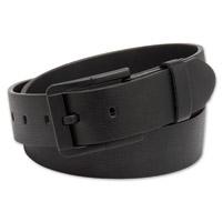 Westside Accessories Men's Black Out Matte Leather Belt