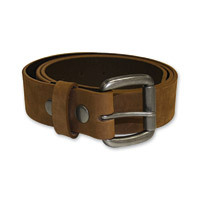 First Manufacturing Co. Men's 1-1/2″ Brown Leather Belt