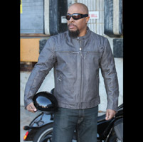 First Manufacturing Co. Men's Carbon Leather Jacket
